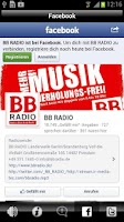 Screenshot of BB Radio