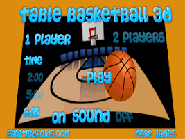 Screenshot of Table Basketball 3D Pro