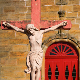 Take me to Church by Kim Rogers-Krahel - Buildings & Architecture Statues & Monuments ( indiana, catholic, shrine, church, arcabbey, saint meinrad, monte cassino )