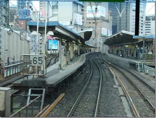 Uma estacao... vista do comboio