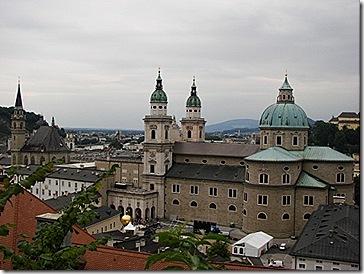 Vista sobre a Catedral