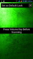Screenshot of Fingerprint Scanner Unlock