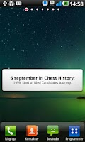 Screenshot of Today in Chess History