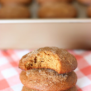 Soft Gingersnap Muffin Tops