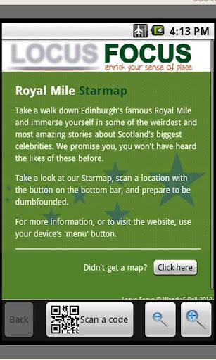 Royal Mile Starmap
