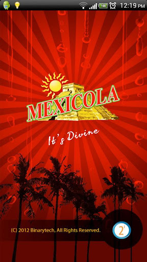 Mexicola Soft Drinks