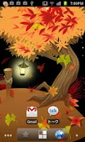 Screenshot of Autumn tint Live Wallpaper