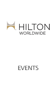 Hilton Events - screenshot