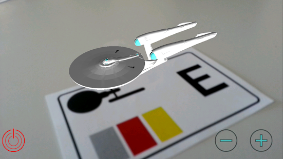 Star Trek AR augmented reailty - screenshot