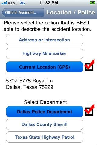USAccident Dispatch App