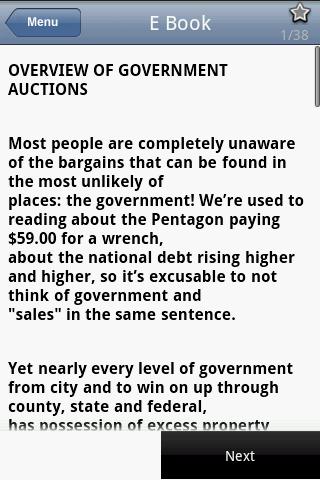 Government Auction Secrets