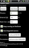 Screenshot of Camera Timer USB