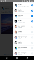 Screenshot of Buffer: Social Media, Twitter