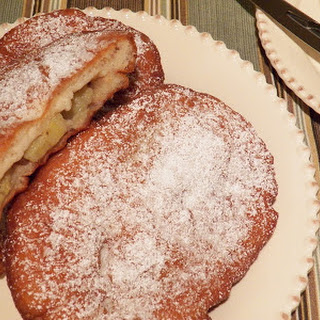 Banana Stuffed Fried Dough