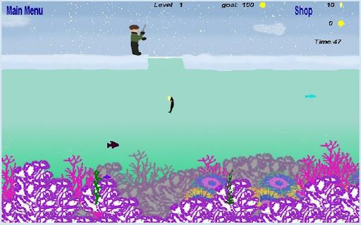 冰上釣魚遊戲精簡版