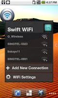 Screenshot of Swift WiFi Pro