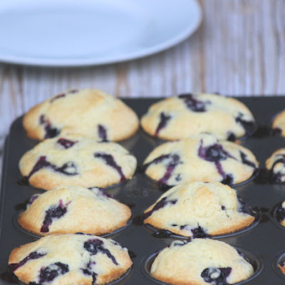 Home Style Blueberry Muffins