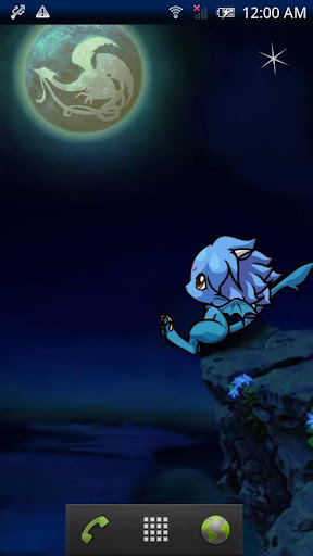 Baby dragon -Moon-