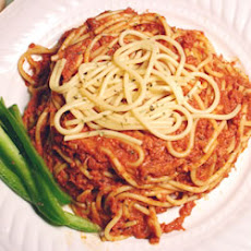 Spaghetti with Corned Beef