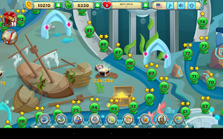 Screenshot of Solitaire Atlantis