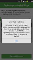 Screenshot of OTP Gépkocsinyeremény