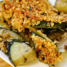 Lightened Up Zucchini Gratin