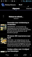 Screenshot of Wadup Nieuws