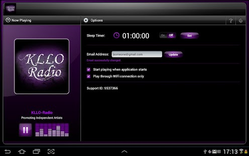 KLLO Radio - screenshot