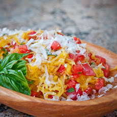 Spaghetti Squash with Tomatoes and Basil Recipe