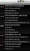 Screenshot of Boxer TV Guide DK