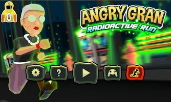 Screenshot of Angry Gran RadioActive Run