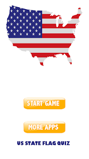US state flag quiz - screenshot