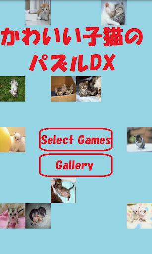かわいい子猫のパズルDX