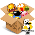Download Full Emoticons pack Text & Stickers  APK