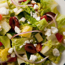 Basic Greek Salad Recipe