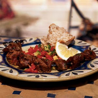 Brochettes of Lamb