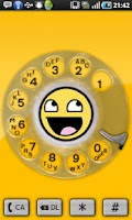 Screenshot of dialR: Rotary Phone Dialer