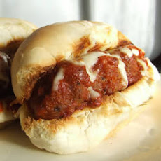 Meatball Melt Sandwich