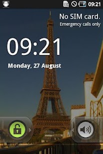 Paris Eiffel LIVE Wallpaper - screenshot