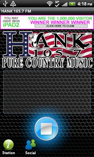 HANK 105.7 FM