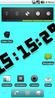 Screenshot of Cube Clock
