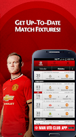 Screenshot of Man Utd Fixtures Calendar