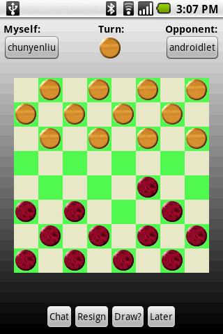 Checkers Across Devices