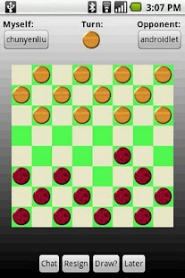 Checkers Across Devices - screenshot