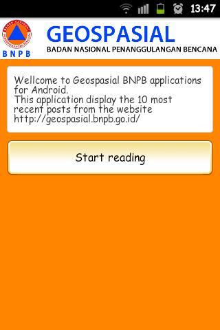 Geospasial BNPB