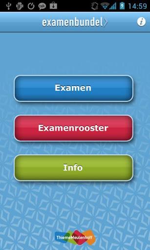 Examenbundel HAVO 2013