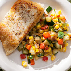 Corn, Bell Pepper, and Zucchini Sauté Recipe