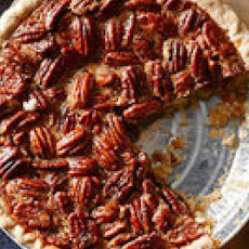 Pecan Pie with Bourbon Ice Cream