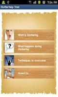 Screenshot of Stuttering Help Trial