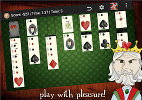 Screenshot of Play Klondike Solitaire